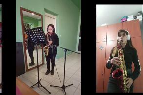 Μαθητές της Φιλαρμονικής Αλεξάνδρειας εκπαιδεύονται στην διαδικασία της ηχογράφησης - Δείτε το βίντεο
