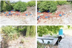 Ασυνείδητος πέταξε σάπια φρούτα σε βρύση  στην είσοδο του Σταυρού Αλεξάνδρειας