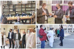 Σε Βέροια και Νάουσα χθες ο πρώην Υπουργός Υγείας Ανδρέας Ξανθός Επισκέφθηκε τα νοσοκομεία και ανέλυσε τις θέσεις του ΣΥΡΙΖΑ για την Υγεία σε συνέντευξη Τύπου και πολιτική ομιλία στη Βέροια