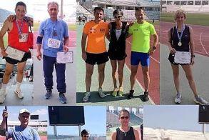 10 μετάλλια για τον ΣΕΒΑΣ στο πανελλήνιο πρωτάθλημα διαχρονικών αθλητών στον Βόλο