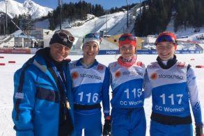 Μαρία Ντάνου, Γεωργία Νιμπίτη και Στελλίνα Γιαννακοβίτη στο Παγκόσμιο Πρωτάθλημα Seefeld Αυστρία 2019
