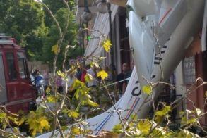 Με ταξί μετέφεραν τον πιλότο του αεροσκάφους που έπεσε στις Σέρρες!