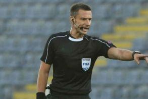 Ο Σλοβένος Βίντσιτς διαιτητής στον αγώνα ΠΑΟΚ-ΑΕΚ την Κυριακή στην Τούμπα (19.30 )