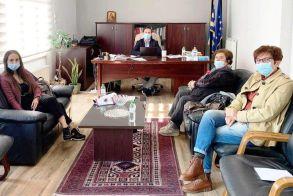 Συνάντηση του «Έρασμου» με τον Δήμαρχο Νάουσας