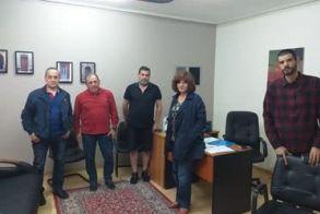 Συνάντηση της  Φρόσως Καρασαρλίδου με την ομάδα SOS Βέρμιο