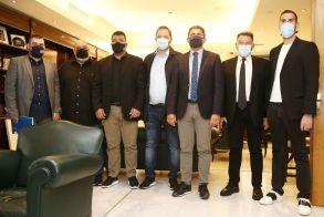 Super League 2: Ο Λευτέρης Αυγενάκης συναντήθηκε με αντιπροσωπεία της λίγκας
