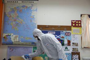 Αλεξάνδρεια: Σε απολυμάνσεις σχολείων και δημοτικών καταστημάτων προχωράει ο Δήμος