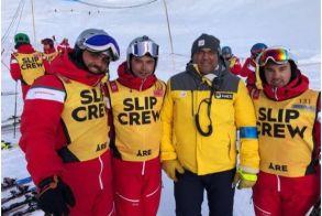 Στα χρώματα του ΣΧΟ ΒΕΡΟΙΑΣ το Παγκόσμιο Πρωτάθλημα Χιονοδρομίας στο ΑΡΕ της Σουηδίας