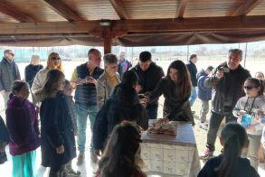 Κοπή πίτας της SARANTOVRISES TENIS ACADEMY