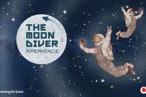 """Ταξίδι στο διάστημα μέσα από το εκπαιδευτικό παιχνίδι """"The Moondiver Xperience"""" του Ιδρύματος Vodafone"""