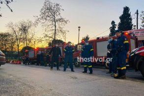 Στιγμές συγκίνησης στο ΑΧΕΠΑ: Πυροσβέστες χειροκρότησαν γιατρούς και νοσηλευτές - Βίντεο