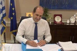 Απ. Βεσυρόπουλος: «Παράταση έως 31-12-2021 των βεβαιωμένων οφειλών που τελούσαν σε αναστολή μέχρι 30-4-2021»