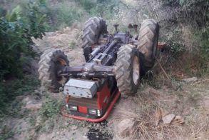 Νάουσα: Τραγικός θάνατος για 83χρονο! Καταπλακώθηκε από το τρακτέρ που οδηγούσε