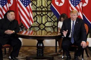 Συνάντηση Τραμπ - Κιμ: Κατέρρευσαν οι συνομιλίες - Δεν υπήρξε συμφωνία