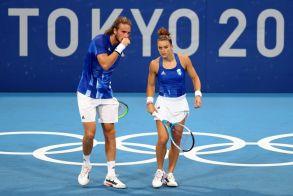 Στέφανος Τσιτσιπάς – Μαρία Σάκκαρη: Πρεμιέρα με το δεξί στο μεικτό του τένις