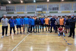 Επιστροφή στις προπονήσεις για την ομάδα χαντ μπολ του  Ζαφειράκη Ναουσας