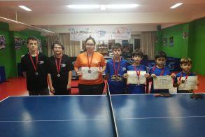 Πινγκ-Πονγκ: Ένα Χρυσο, Δύο Ασημένια και Τέσσερα Χάλκινα για τη Βέροια στο Πανελλήνιο Πρωτάθλημα στη Μνήμη του Φώτη Τσιαλτζούδη