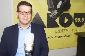 Στην πρώτη του συνέντευξη, μετά την υπουργοποίησή του, στον ΑΚΟΥ 99.6 - Άγγελος Τόλκας: «Πολιτική επιλογή,   να ανταποκριθώ στο προσκλητήριο Τσίπρα   για μια συμμαχία προοδευτικών δυνάμεων»