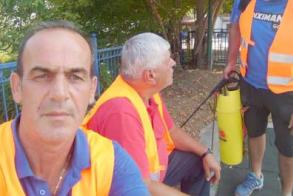 Συγκέντρωση διαμαρτυρίας για την μόλυνση της   Τάφρου 66 σήμερα στη γέφυρα Πολυπλατάνου