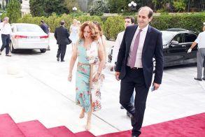 Οικογενειακώς για την ορκωμοσία  του ημαθιώτη υφυπουργού οικονομικών