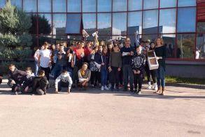 Το Γυμνάσιο Κοπανού στο εργοστάσιο φρέσκων σκευασμάτων Panini