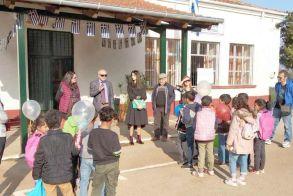 Ξεκίνησαν τα μαθήματα, για τα  προσφυγόπουλα στο Δημοτικό   Σχολείο Αγ. Βαρβάρας