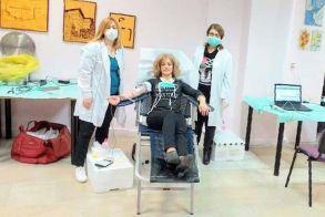 Αιμοδοσία του Νοσοκομείου, στο 1ο Κ.Α.Π.Η. Βέροιας, λόγω ανάγκης και μεγάλης έλλειψης αίματος