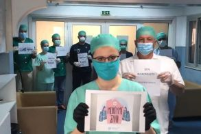Μείνετε Σπίτι- Βίντεο των γιατρών του ΜΑΜΑΤΣΕΙΟΥ νοσοκομείου Κοζάνης