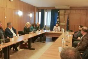 Ευρεία σύσκεψη χθες στο Υπ. Ανάπτυξης  Θα κατατεθούν στο Υπουργείο προτάσεις για την   αντιμετώπιση της «μαύρης» διακίνησης αγροτικών   προϊόντων και την φορολόγηση των αγροτών