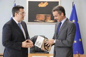 Συνάντηση Τζιτζικώστα-Μητσοτάκη χθες στη Θεσσαλονίκη - Αμοιβαία ικανοποίηση από την άριστη συνεργασία Περιφέρειας – Κυβέρνησης