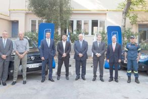 Δωρεά 546.000 ευρώ από τη Eurobank προς στο Πυροσβεστικό Σώμα