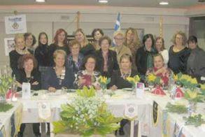 Επίσημη επίσκεψη της Διοικητού της 247 Περιφέρειας  Inner Wheel Ελλάδας στον Όμιλο της Βέροιας