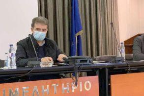 Σύσκεψη με τον Μιχάλη Χρυσοχοΐδη στη Βέροια  για τα μέτρα κατά της υγειονομικής πανδημίας