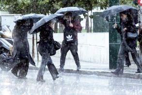 Βροχές, καταιγίδες και πτώση θερμοκρασίας από Δευτέρα