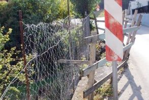 Επιστολή διαμαρτυρίας  για «σπασμένο» δρόμο  στην είσοδο του Άλσους Παπάγου