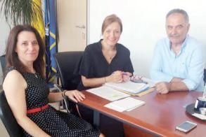 Ο Θ. Τεληγιαννίδης στην αντιπεριφερειάρχη Αγροτικής Ανάπτυξης για την έλλειψη κτηνιάτρων