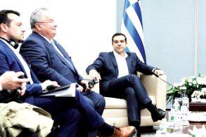 Συνάντηση με τον Πρόεδρο της Τουρκίας, κ. Ρετζέπ Ταγίπ Ερντογάν, στο περιθώριο της 73ης Γενικής Συνέλευσης του Οργανισμού Ηνωμένων Εθνών