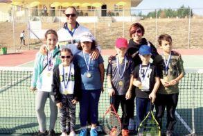 Όμιλος Αντισφαίρισης Αλέξανδρος Βέροιας - 3η θέση η Ανθή Μανωλοπούλου