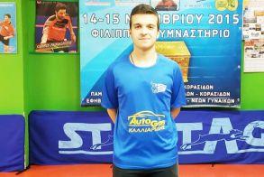 Ping-Pong - Ο Παζαρτζικλής Διονύσης του ΑΣΕΑΒ στη Τελική Φάση του Πανελληνίου Πρωταθλήματος Ατομικού Εφήβων
