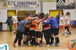 Πρωταθλητής στο χάντμπολ ο Ζαφειράκης Νάουσας!  Άνοδος της ομάδας στην Handball Premier (A1)!