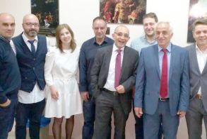 Συνταξιοδοτικά θέματα στη συνάντηση   του ασφαλιστικού γραφείου   «Μιχαηλίδης & Συνεργάτες»,   στο Επιμελητήριο