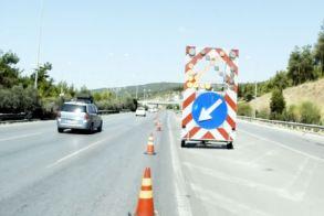 Εκτροπή κυκλοφορίας σήμερα και αύριο  στο ύψος του Πλαταμώνα