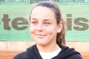 Η Τατιάνα-Έλενα Γιτοπούλου  Φιναλίστ στο Πανελλήνιο Πρωτάθλημα Ε1 Κ12 στα διπλά