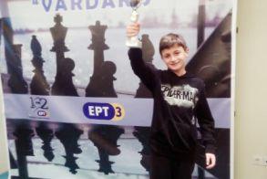 Μεγάλη διάκριση Ημαθιώτη μαθητή σε Διεθνές Σκακιστικό Τουρνουά