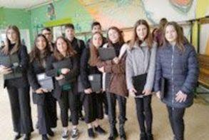Στο 2ο Συνέδριο Προσομοίωσης  των Ηνωμένων Εθνών, συμμετείχε το Γυμνάσιο Μακροχωρίου