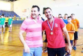 Δηλώσεις του προπονητή Κύρου Σαράφη Πρωταθλητής ΠΑΙΔΩΝ