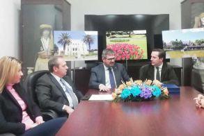 Νικόλας Καρανικόλας: «Ανοίγει δίαυλος συμπράξεων με το ΙΓΕ για την περαιτέρω ανάδειξη του Δημοτικού Πάρκου  και του Άλσους Αγίου Νικολάου Νάουσας»