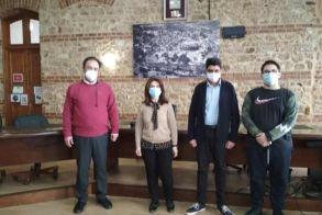 Επίσκεψη του 4ου ΓΕΛ στο Δημαρχείο Βέροιας
