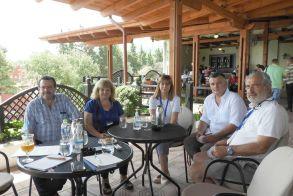 Αγροτική αποστολή από τα Σκόπια στη Βέροια  Ενημερώθηκαν για τη λειτουργία των Αγροτικών Συνεταιρισμών  από τον πρόεδρο της Κοινοπραξίας Χρ. Γιαννακάκη