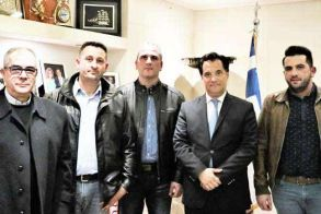 Και ο βεροιώτης Κ. Καμπαιλής ανάμεσα στους «ασανσεράδες» που συναντήθηκαν με τον υπουργό Άδωνη Γεωργιάδη